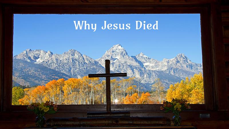 Why Jesus Had to Die