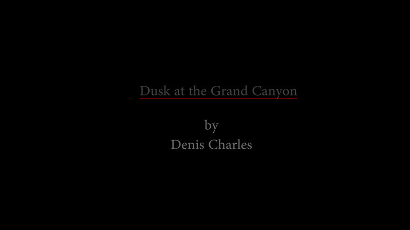Dusk at the Grand Canyon - Time-lapse.