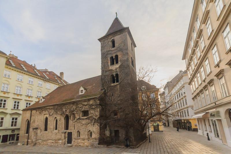 City Walk - in 1. District, Vienna, Austria on 11. 1. 2014. Photo: Gerald Fischer