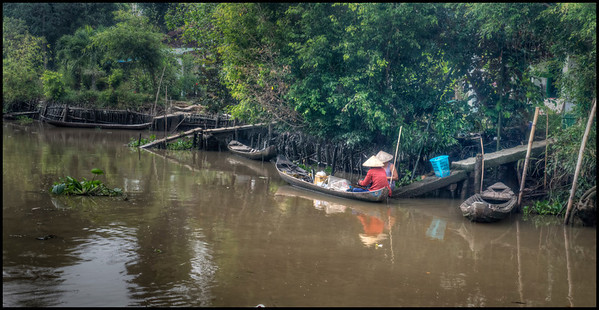 In the Mekong Delta, Vietnam.