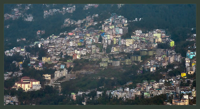 Gangtok, Sikkim, India.