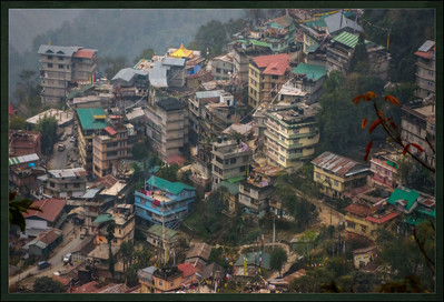 The Other Side of Town. Gangtok, Sikkim, India.