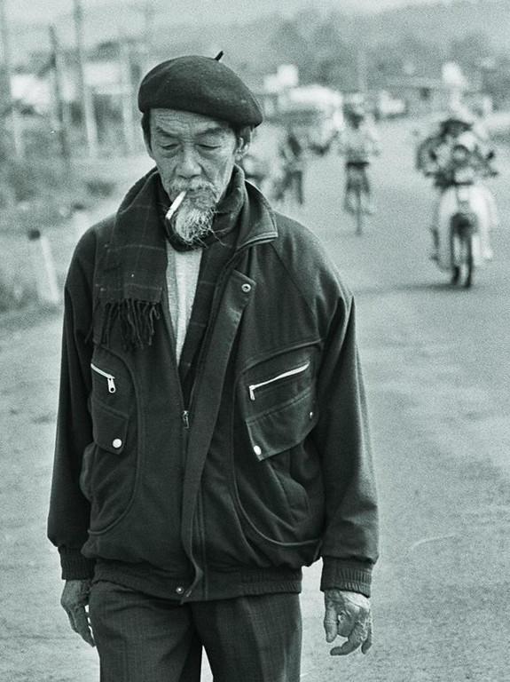 man in beret 1