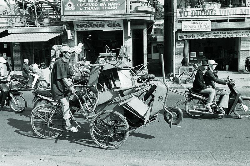 wheelbarrows on bike