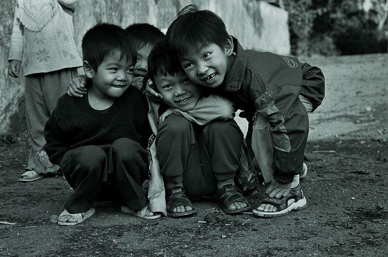 camera shy kids! 1