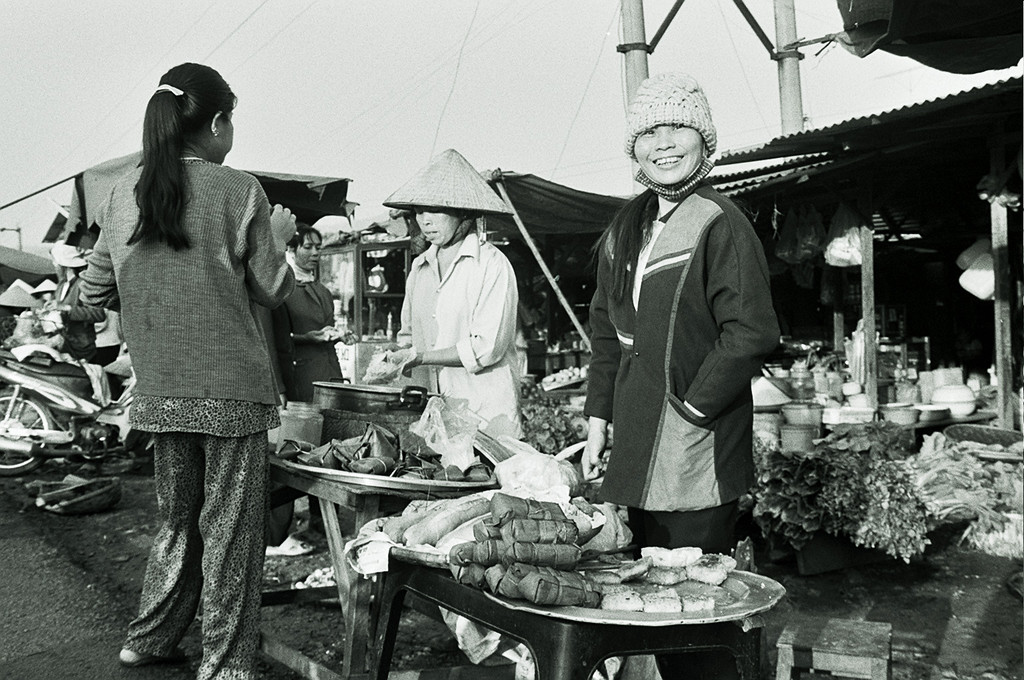 market stall (wooly hat)