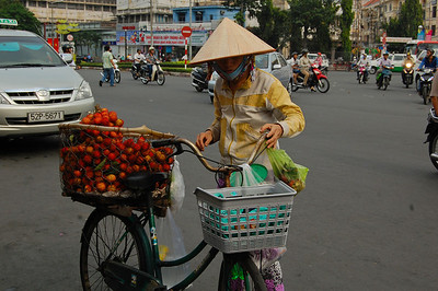 Saigon is more modern than we expected but more traditional images still abound.