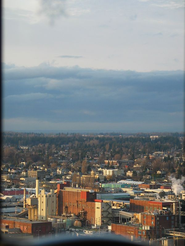 The city of Bellingham, overshadowed by clouds *sigh*
