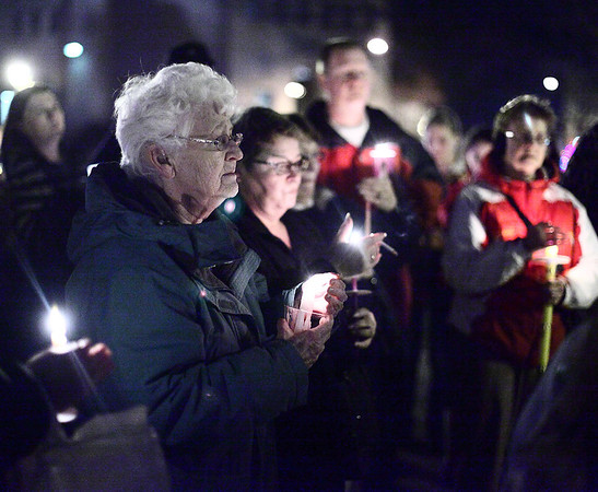 Vigil in Ely Square