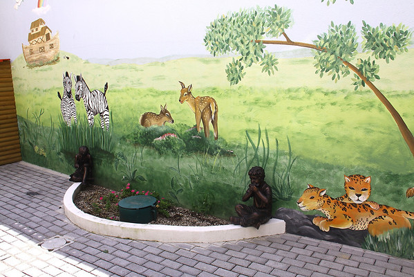 Mural at Moore Pediatric Surgical Center