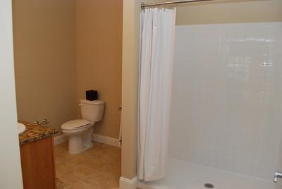 Master bathroom - walk in shower unit.