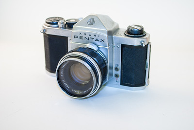 Pentax S1 The Pentax S1 was manufactured from 1961 - 1966. Before this one landed in my hands, it was used for several years by my father to capture the tears and joy of Formula One motor racing around Australia. It featured (despite what was advertised at the time) shutter speeds up to 1/1000th of a second.