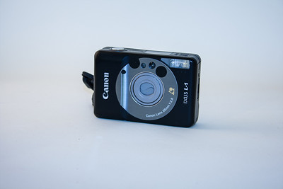 Canon Ixus L-1 In Australia this camera is known as Elph, and a digital model is now available. I bought this in London primarily for capturing shots of friends at parties; the camera comfortably fits in a pocket.