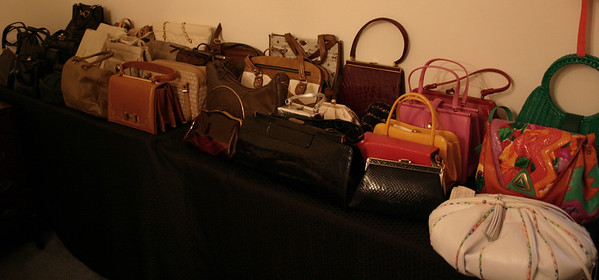 Fantastic vintage handbags, many new with tags
