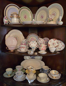 Herend cups and saucers and more!