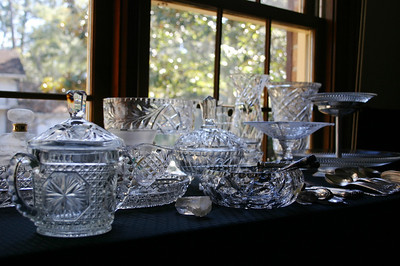 Crystal, including Lalique