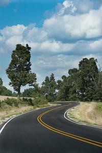 Curvy Rural Highway