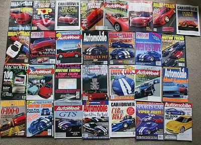 Viper cover magazines.