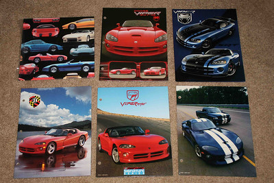 Viper folders & wrapping paper.