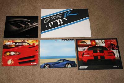 Viper brochure set: 2004-2010.