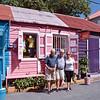 Visit to Tortola! Maurizio, Maria Paola and Mario