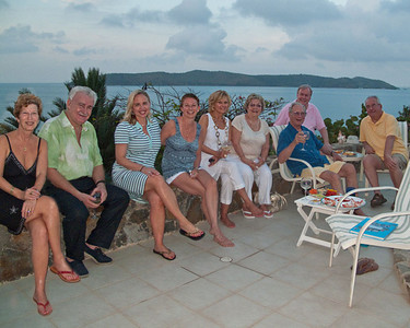A special time with Patti and Mike Doyle of Leverick Bay, and friends!