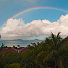 Rainbow (from our villa)