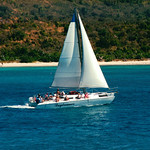 Sailboat off Buck Island – U.S. Virgin Islands – Daily Photo