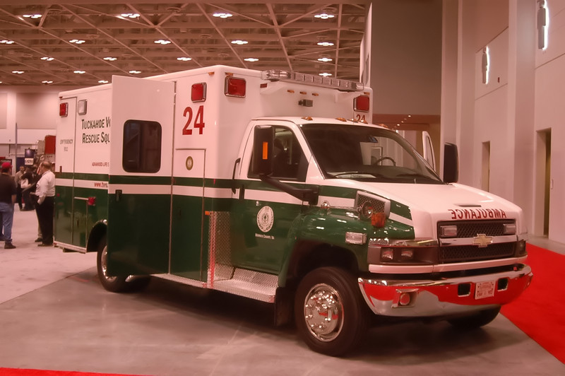Tuckahoe Volunteer Rescue Squad - Henrico County, VA<br /> <br /> 2008 Chevolet/PL Custom Type I ambulance