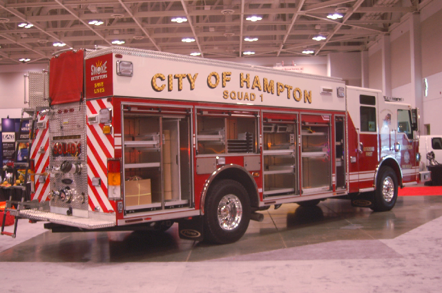 Rear View - City of Hampton, VA Squad 1