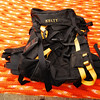 Kelty BoardPack $30<br /> <br /> Designed to hold a Snowboard while Hiking. Has a great suspension system and a really stout aluminum frame.