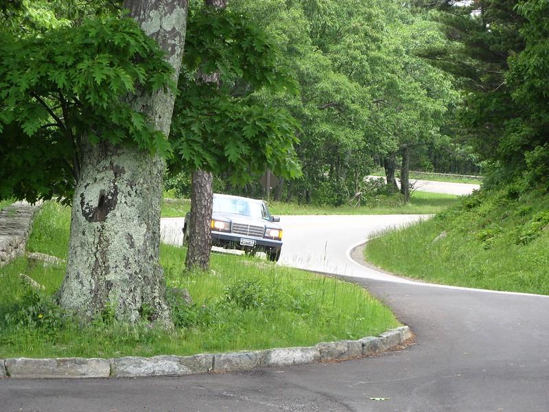 Skyline Drive in Shenandoah National Park.