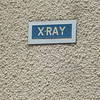 Wall of X-Ray building