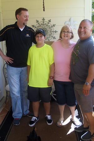 Visiting Aunt Francis July 2015