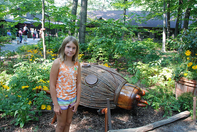 Visiting the Big Bugs Exhibit at Garden in the Woods