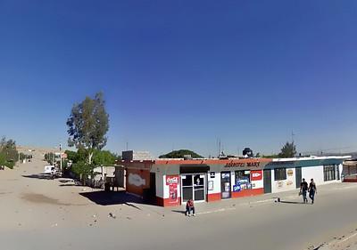 west of Juarez