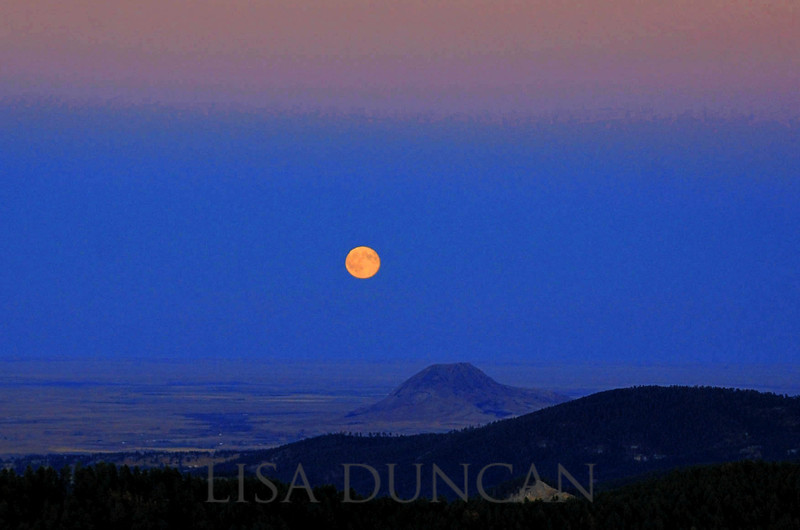 Bear Butte Moon.