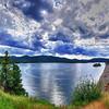 Lake Pactola.