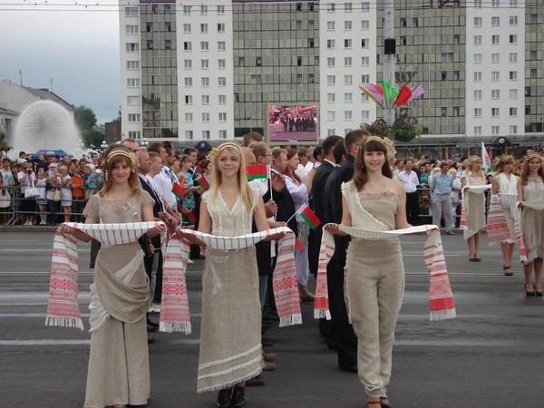 Vitebsk Belarus Independence Day Parade!