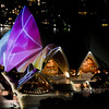 Vivid Sydney 2011,<br /> From the InterContinental Hotel,<br /> Sydney.