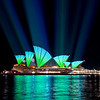 Vivid Sydney 2011,<br /> From the Passenger Cruise Terminal,<br /> Sydney.