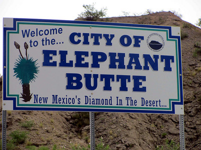 """The only """"lake"""" in NM is in Truth or Consequences. It's called Elephant Butte, and it's actually a reservoir."""