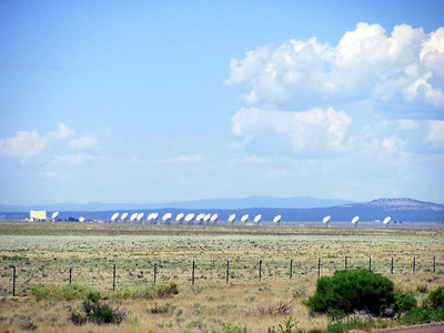 First we went to see the NRAO Very Large Array (VLA) near Socorro, NM (a couple hours south of Albuquerque).