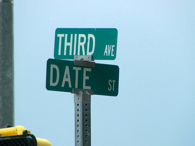 Is this intersection where people who live in Truth or Consequences go on their third date? Lol.