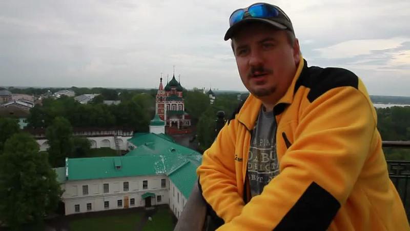 Евгений KABANCHIK: Обзор Ярославля с нашей колокольни