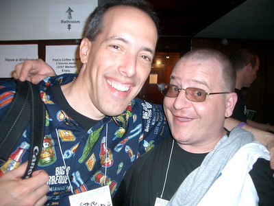Steve Garfield from the Steve & Carol Show and Paul Knight from the PJK Productions.