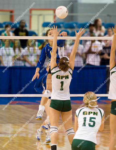 Bloomfield Hills Marian vs. Gross Pointe North<br /> Girl's High School Volleyball<br /> 2008 MHSAA Class A Semifinals