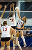 Battle Creek St. Philip vs. Bay City All Saints<br /> Girl's High School Volleyball<br /> 2008 MHSAA Class D Semifinals