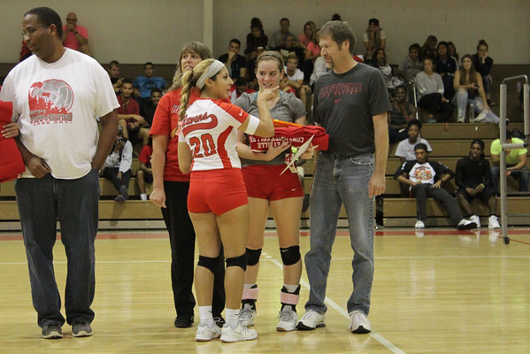 Volleyball Sophomore Recognition 2014