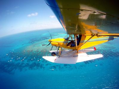 volo con l'idrovolante